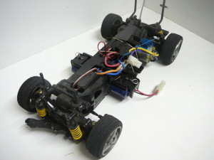 almost exactly identical chassis to Tamiya TL-01