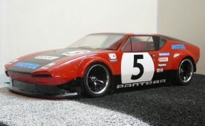 Updated with new TL-01 chassis, HPI Pantera Body and alloy rims.