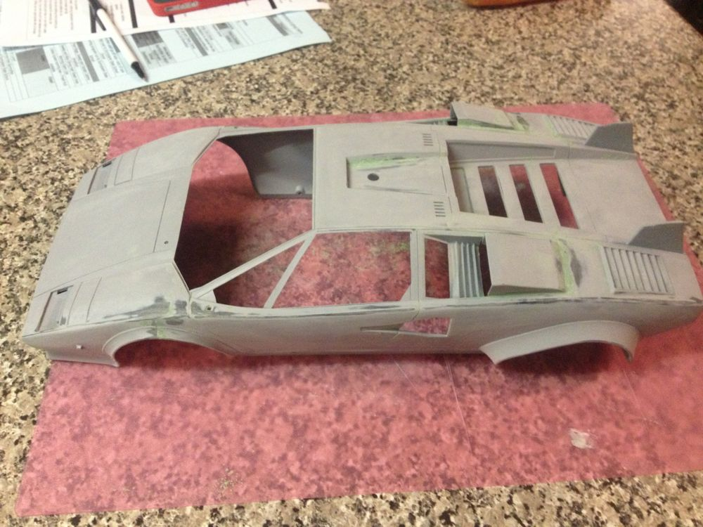 undercoat and then fixing up the body
