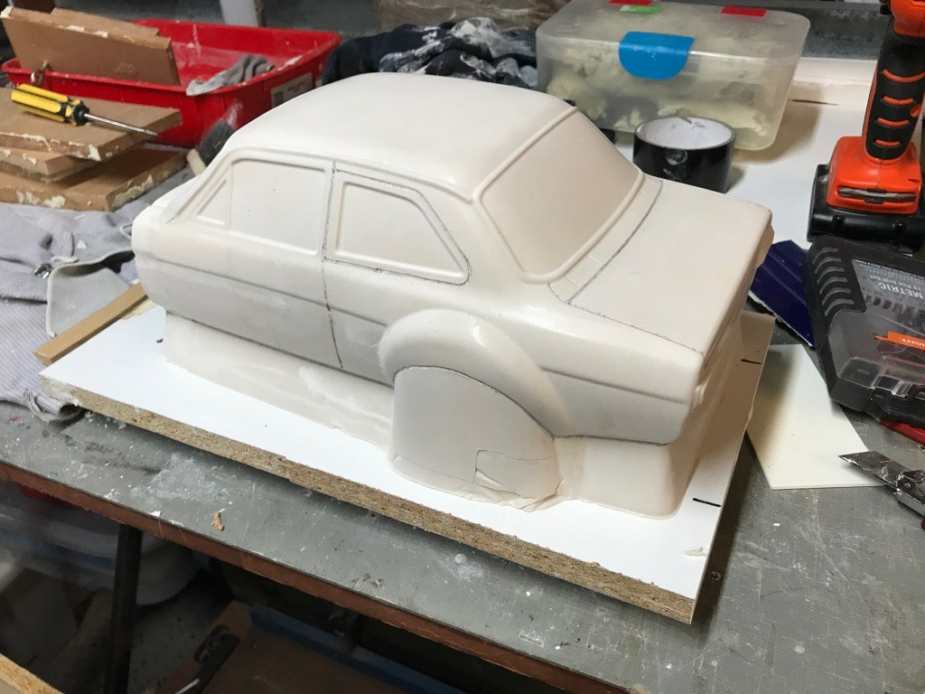 Ford Escort Mark I in polycarbonate and ABS