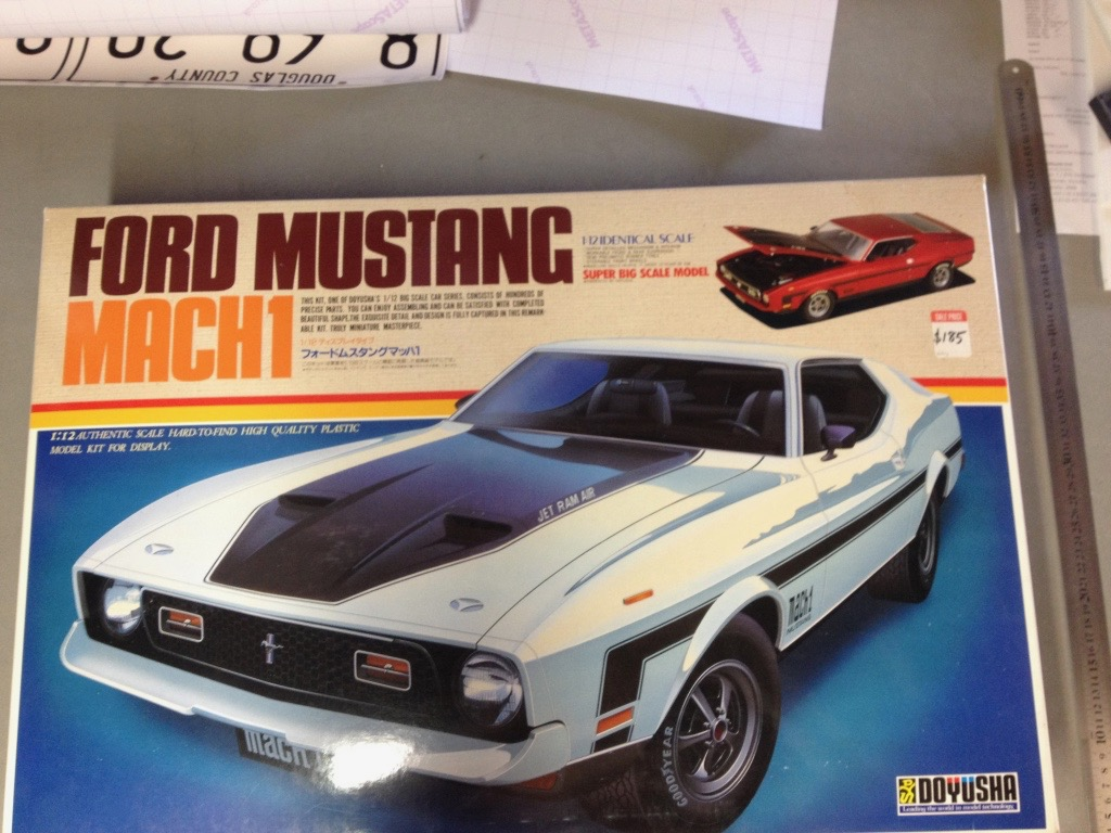 Ford Mustang Mach 1 1/12